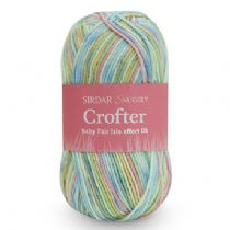 Sirdar Snuggly Baby Crofter Double Knit 50g - RRP £4.10 OUR PRICE from £1.99